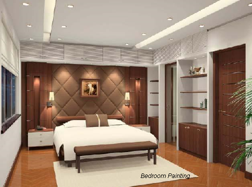Bedroom painting ideas bedroom painting ideas for couples for Bedroom painting ideas india