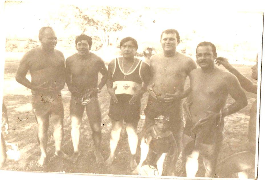CONFRATERNIZAÇÃO DO PESSOAL DA CONTABILIDADE - NA ASFARN EM MACAÍBA - EM 1982