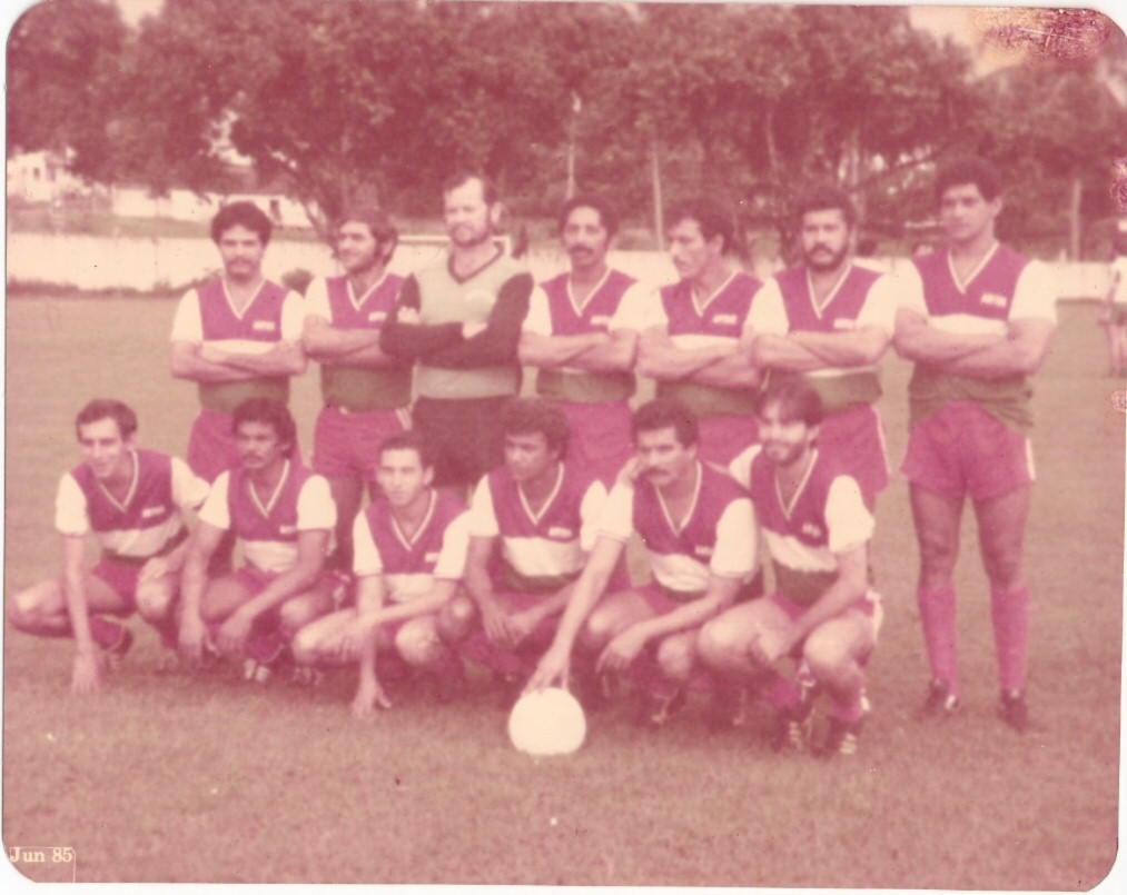 EQUIPE ASES DO VOLANTE EM 1985