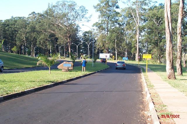Entrada Fazenda Lageado (Unesp)