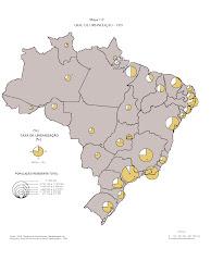 BRASIL - URBANIZAÇÃO