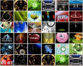 Nokia Sries40 Clock Themes