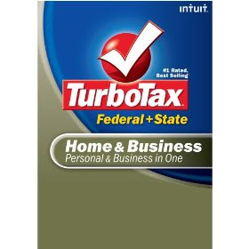 Intuit Turbo Tax Home & Business Federal + State, eFile 2008