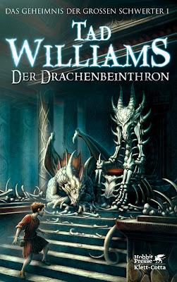 Pat s Fantasy Hotlist German cover art for Tad Williams