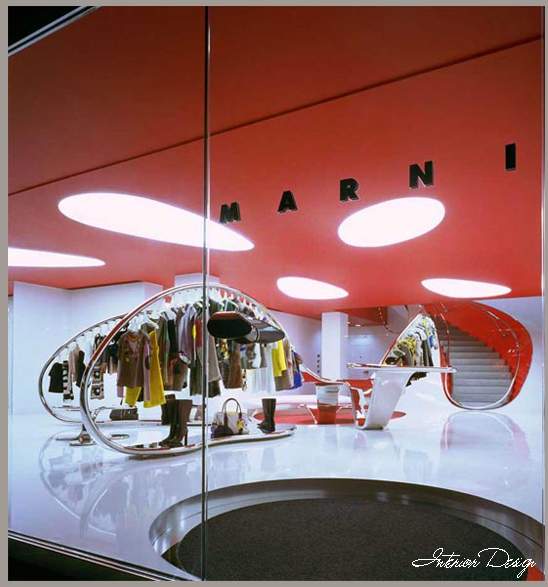 Interior design marni flagship london store home design Interior design stores london