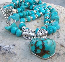 Southwestern necklace JW.Style
