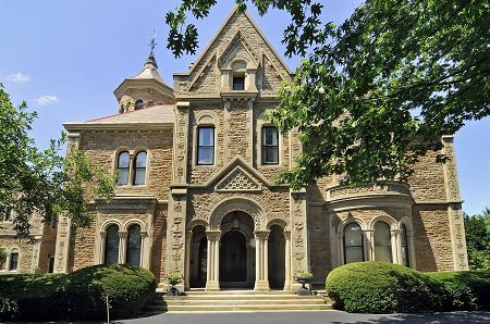 Gaia House c 1864 Castle Cincinnati Ohio