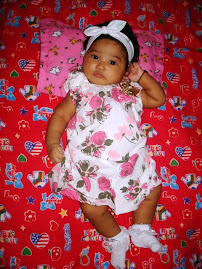 BABY ALEESYA WITH ZARA BABY DRESS