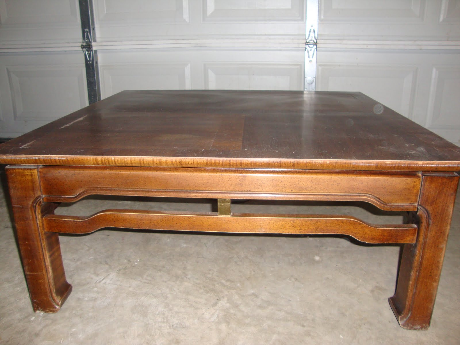 Amazing grays coffee table revamp for Revamp coffee table