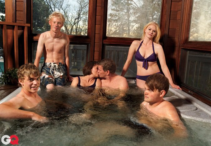 The Haggards Hot Tub Time Machine