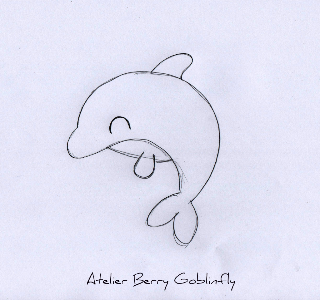 Petit sac dauphin pour mon fils mademoiselle hook - Idees dessin simples ...