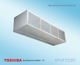 Envirotec Air Barrier Toshiba Heat Pump