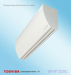 Envirotec Toshiba Heat Pump Door Curtain