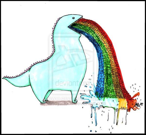 rainbow gloves rai...
