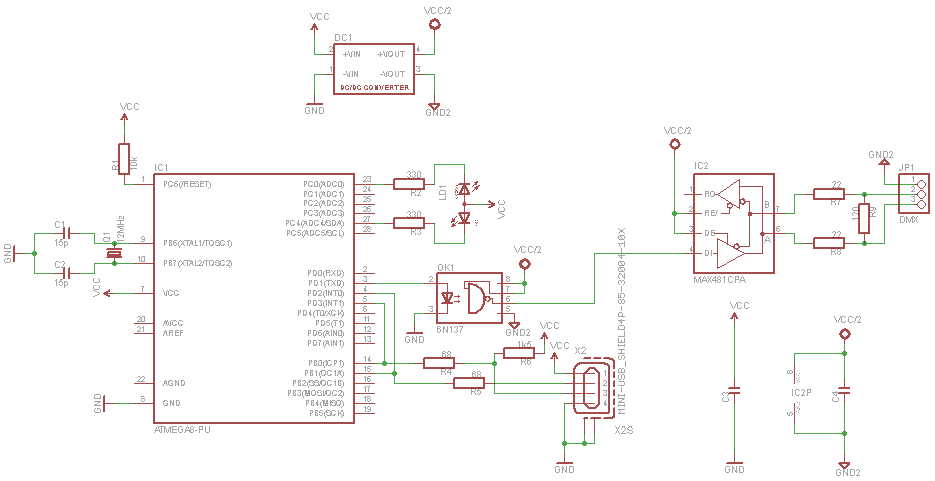 Udmx Opto Sch further Img as well R L as well Img as well Img. on dmx terminator schematic