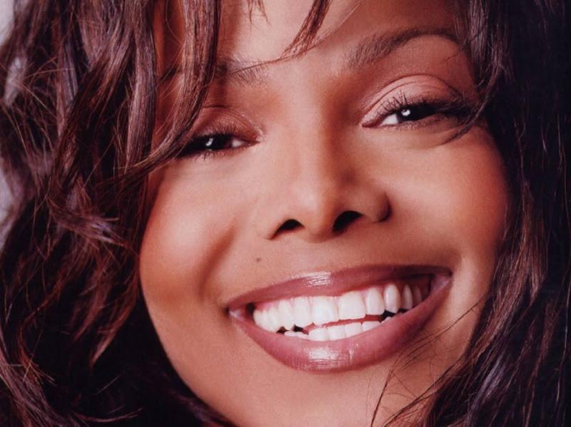 Janet Jackson smile