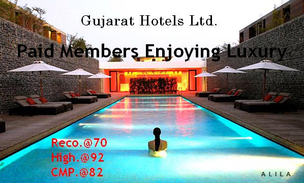 Just Click The Below Link Where We Strongly Recommended Gujarat Hotels Ltd Which Was Given To Our Operator Based Sureshot Members