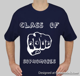 Student Council Class Of 2013 Year 2010 2011 T Shirt Designs