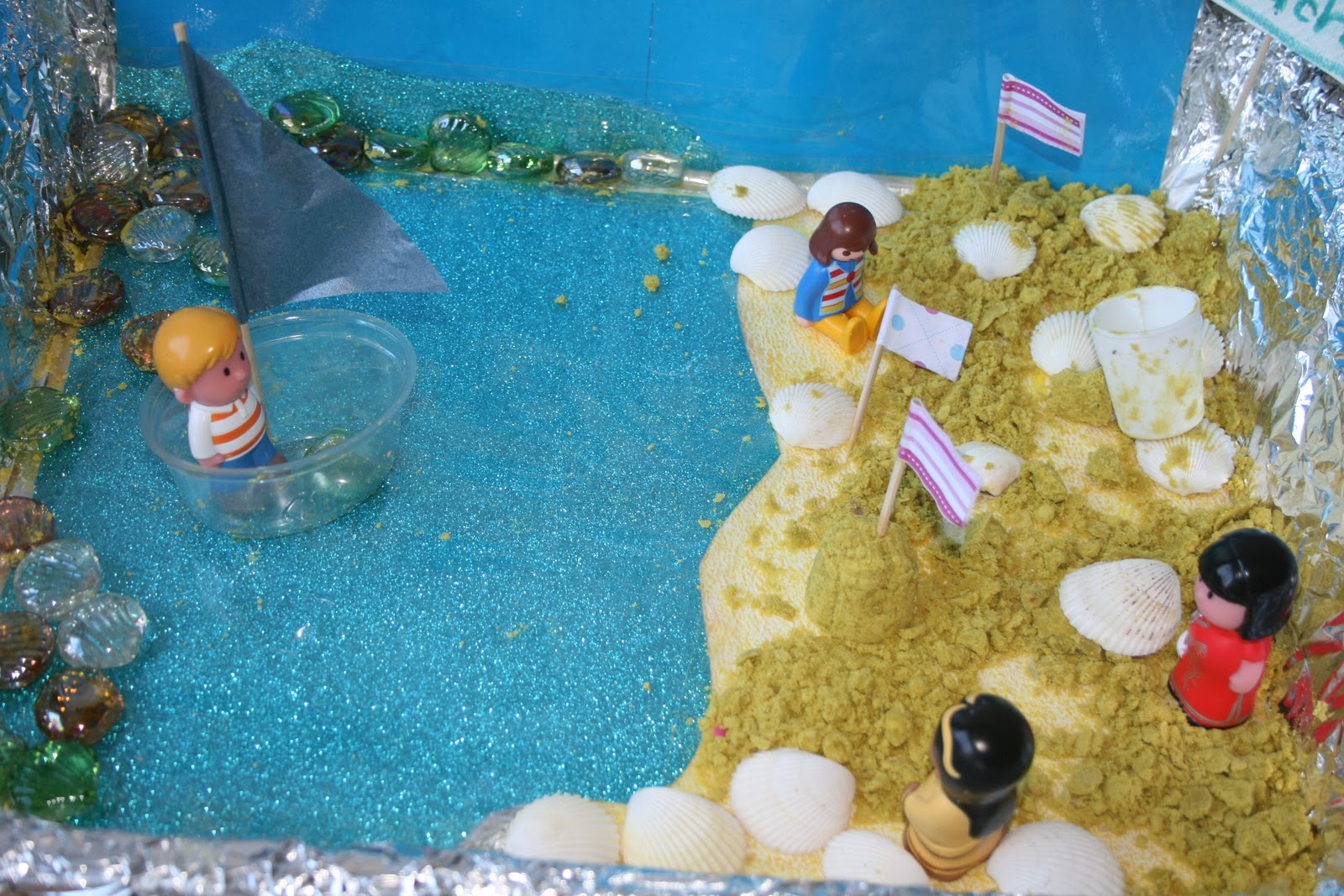 Small world play the seaside the imagination tree for Scene ideas