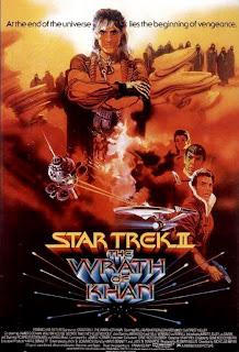 Star Trek: La Ira de Khan Poster