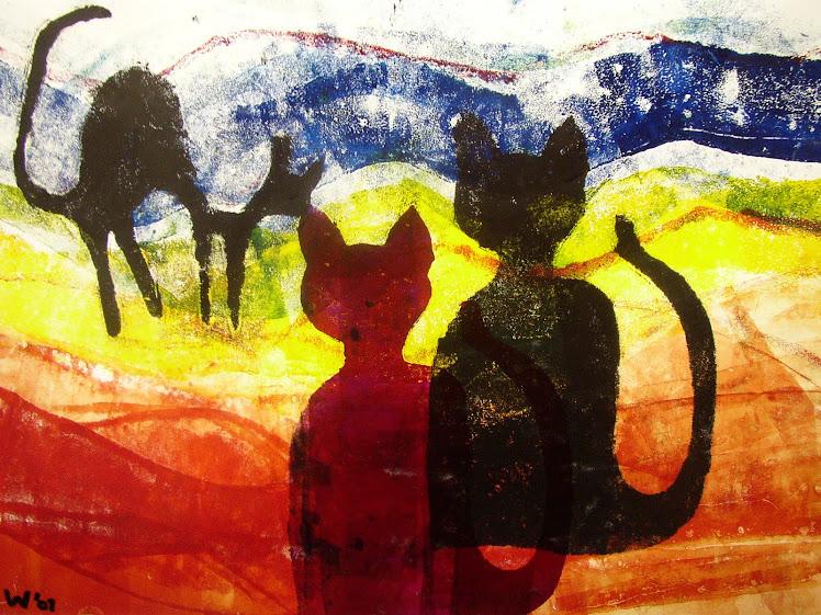 TW-ART  Tina Woldringh  Schilderijen en tekeningen, veelzijdig en kleurrijk
