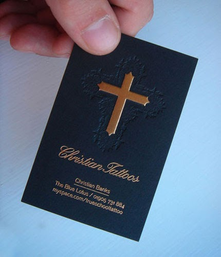 Christian Business Cards And More Stumbled upon a pretty