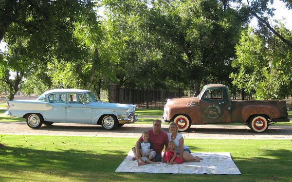 John & Tracy Smith 1955 Studebaker Truck & 1957 Studebaker President