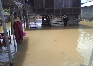 Banjir, Kagetkan Warga Desa Bugis