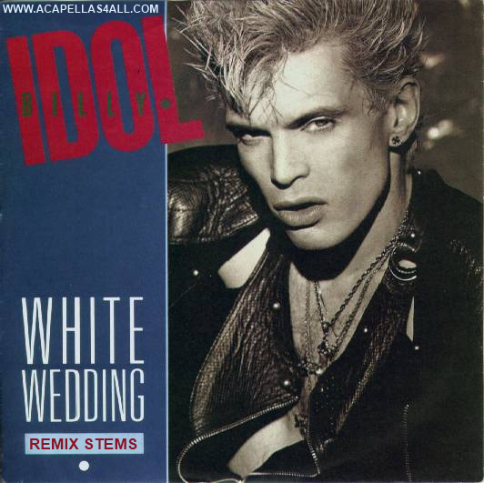 white wedding billy idol
