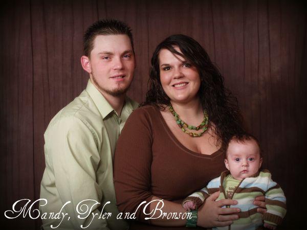Tyler, Mandy & Bronson
