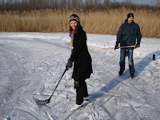 frozen canals Netherlands