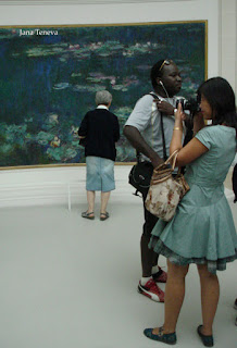 Claude Monet water lilies painting Nympheas impressionism