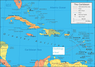 Caribbean sea_Antilles_map