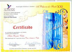 Crônica premiada em 1º Lugar, no Rio Grande do Sul