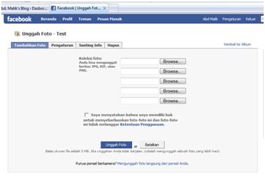 Cara masukan foto di Facebook   cara upload Foto Di FB
