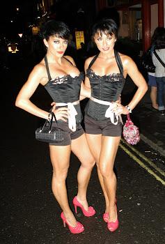 London Celebrity Photographer David Kerr : The Cheeky Girls ...