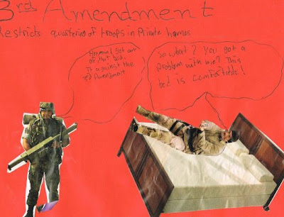 3rd amendment poster