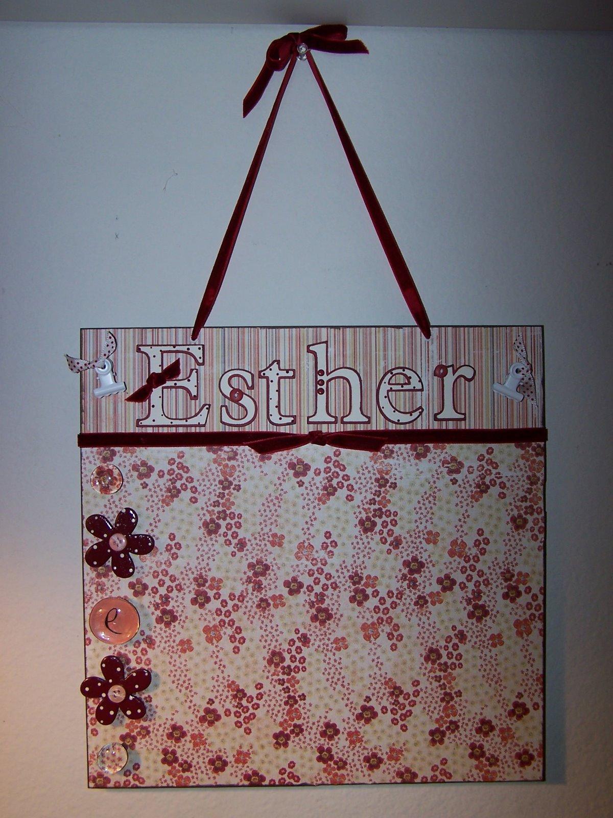[Esther]