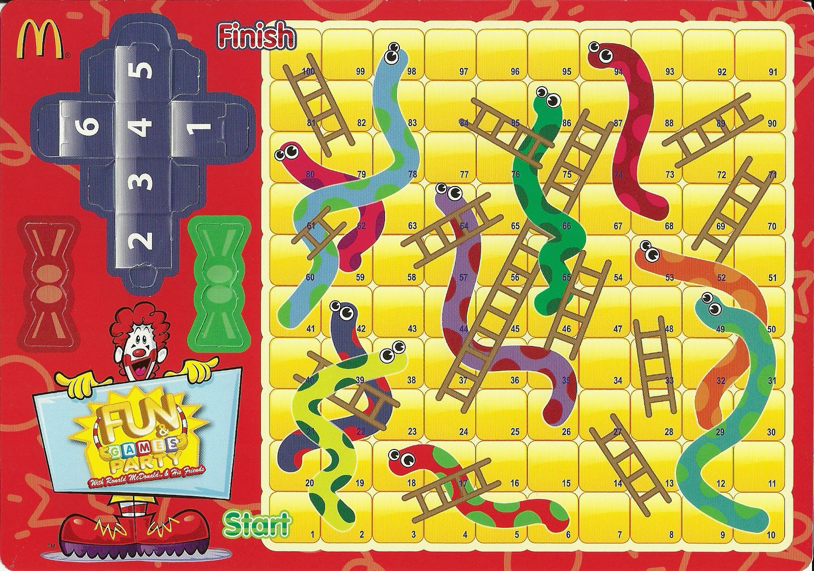 Snakes and Ladders Games for Kids