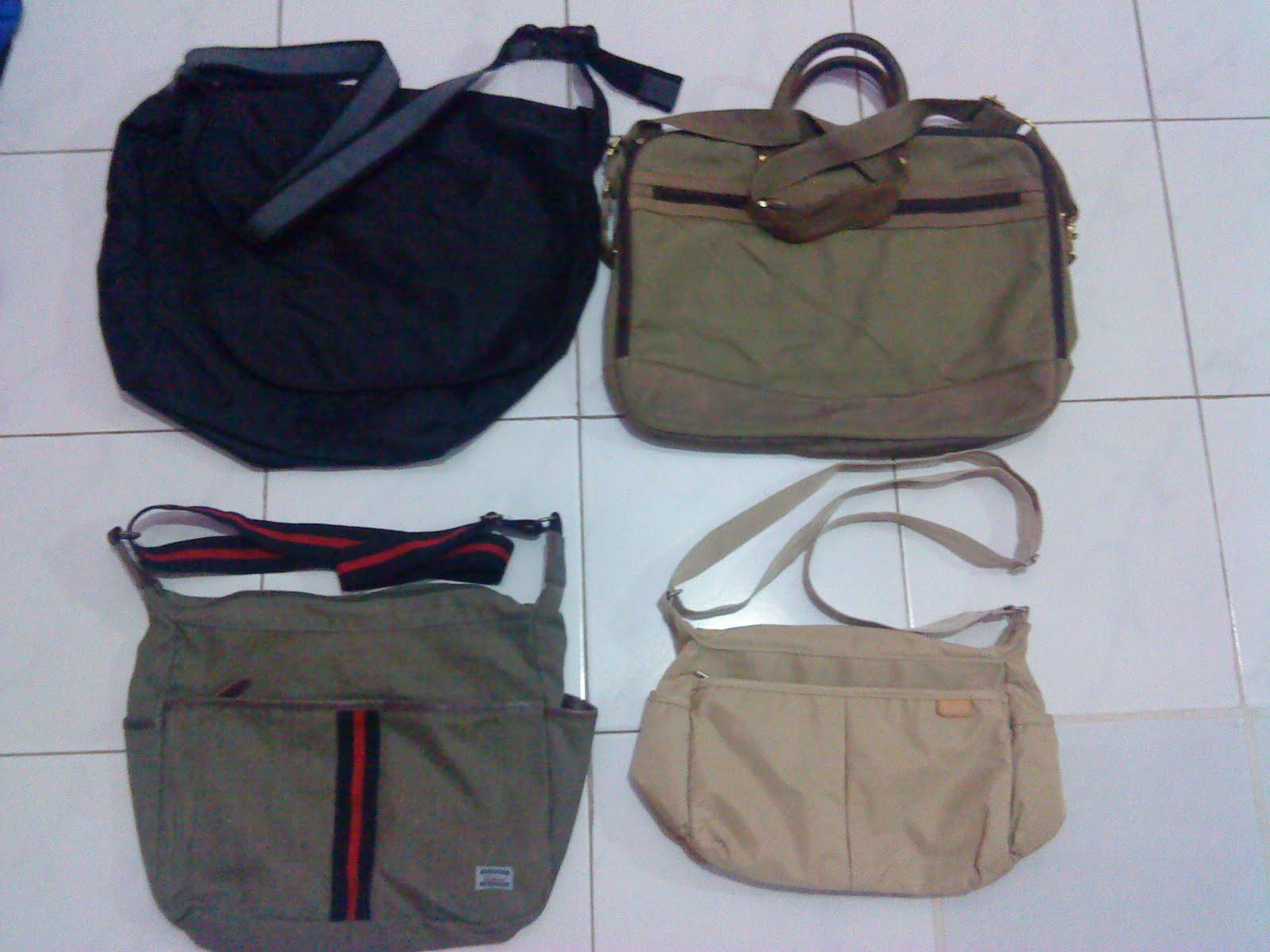 SLING BAGS ( HawKins , Edwin , GAP , Fila ) ~ bundlebarangbaek4