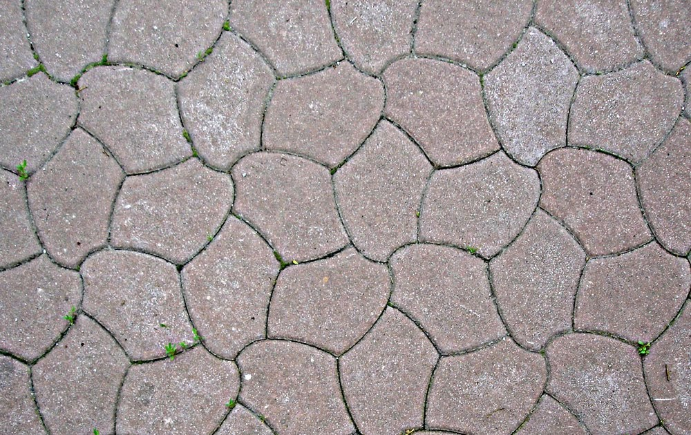 Naturally green green tips for your home use pavers to for Green pavers