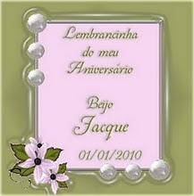 Lembrancinha de Jacque