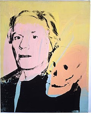The Opposite... Andy Warhol Self Portrait With Skull