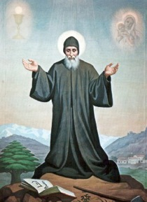 St. Sharbel...Pray for us!