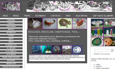 Econenos página web curso iniciación html