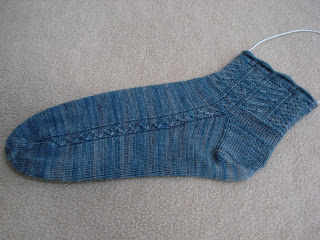 Traveler's socks, click to enlarge