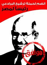 نعم للبرادعي 2011 رئيسا لمصر