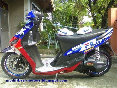Foto Ungu Band on Foto Modifikasi Yamaha Mio