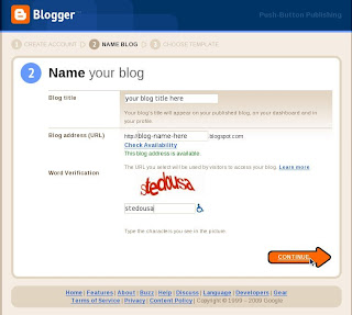 cara membuat blog step 4