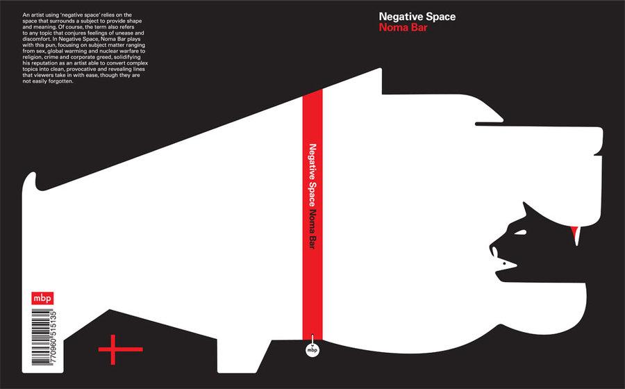 design context noma bar negative space book